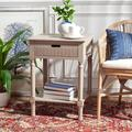 Darby Home Co Port Chester 1 Drawer Accent Table Wood in Brown, Size 26.0 H x 19.0 W x 16.0 D in | Wayfair 74E9AD544F74417EA7CC3E4A823C8222