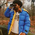 Gucci Jackets & Coats   Gucci X The North Face Nylon Jacket Blue New Small Unisex Authentic   Color: Blue/Orange   Size: S