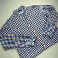 Columbia Shirts | Columbia Men'S Collared Button Down Flannel Casual Working Long Sleeve Shirt L | Color: Blue/Orange | Size: L