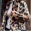 Jessica Simpson Jackets & Coats | Faux Fur Coat | Color: Tan | Size: S