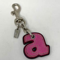 Coach Accessories   Coach Keychain Purse Accessory Pink Letter A   Color: Pink   Size: Os