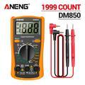 ANENG DM850 – multimètre numérique électrique professionnel automatique, 1999 comptes, testeur de