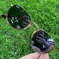 Ray-Ban Accessories   Authentic Ray-Ban Hexagonal Sunglasses 3548n 51mm   Color: Black/Gold/Purple/Red   Size: Os