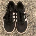 Adidas Shoes | Boys Black Adidas Classic Tennis Shoes | Color: Black/White | Size: 13b