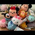 Disney Toys | Nwt 10 Disney Tsum Tsum Plushs Mickey&Friends | Color: Pink/Cream | Size: Os