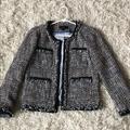 J. Crew Jackets & Coats | J.Crew Tweed Lady Jacket | Color: Black | Size: 00