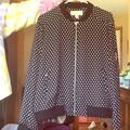 Michael Kors Jackets & Coats | Michael Kors Silk Jacket | Color: Black | Size: L