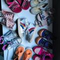 Converse Shoes | Lot Of Size 6 Toddler Shoes! | Color: Blue/Silver | Size: 6bb