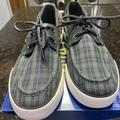 Polo By Ralph Lauren Shoes | Brand New Mens Polo Sapphire Plaid Loafers | Color: Gray | Size: 9