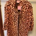 Kate Spade Jackets & Coats | Kate Spade Nwt Sz L Animal Print | Color: Brown | Size: L