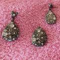 Disney Jewelry   Disney Earring Dangle Charm Jewelry   Color: Pink/Red   Size: Disney Set