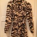 Michael Kors Jackets & Coats | Michael Kors Animal Print Jacket | Color: Brown/Black | Size: S