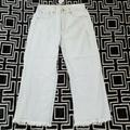 American Eagle Outfitters Jeans   American Eagle Wide Leg Crop Jeans Sz 10 Reg High   Color: Silver/White   Size: 10