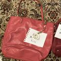 Michael Kors Bags   Mk Michael Kors Bag Purse Gently Used Redorange Patient Leather Nice   Color: Red   Size: Os