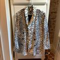 Free People Jackets & Coats | Free People Cheetah Print Jacket | Color: Brown/Black | Size: S