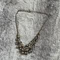 American Eagle Outfitters Jewelry   Ae Cluster Necklace Euc   Color: White/Silver   Size: Os