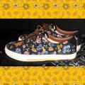 Polo By Ralph Lauren Shoes   Men'S Polo Floral Tennis Shoes   Color: Black   Size: 8.5