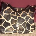 Dooney & Bourke Bags   Large Giraffe Print Dooney & Bourke Bag   Color: Black/Brown   Size: Large Bag