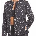 Kate Spade Jackets & Coats | Kate Spade Ruffle Reversible Quilted Jacket | Color: Black | Size: Xs