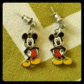 Disney Jewelry   Mickey Mouse Earrings   Color: Gold/Tan   Size: Os