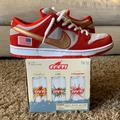 Nike Shoes | Nike Sb Nasty Boys Rare Nike Got A C & D From Mlb | Color: White/Silver | Size: 10.5