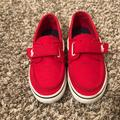 Polo By Ralph Lauren Shoes | Boys Boat Shoes Size 3y | Color: Red | Size: 3b