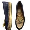 Coach Shoes | Coach Tassel Loafer Shoes | Color: Silver | Size: 7.5