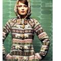Anthropologie Jackets & Coats   Fair Isle Sweater Coat By Sparrow Sz S   Color: Black   Size: S