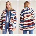 Anthropologie Jackets & Coats | Anthropologie Leona Faux Fur Coat | Color: Silver | Size: Xs