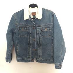 Ralph Lauren Jackets & Coats | Lauren Jeans Co. Jean Jacket | Color: Black/Blue | Size: M