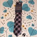 Michael Kors Accessories | Mens Michael Kors Tie & Pocket Square Multi Color | Color: Black | Size: Os