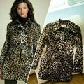 Michael Kors Jackets & Coats | Michael Kors Cheetah Trench Coat. | Color: Black | Size: S