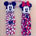 Disney Kitchen | Disney Mickey & Minnie Mouse Hand Towels | Color: Cream/White | Size: Os