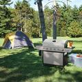 WUEHSK US-SG6002R 6 BBQ Liquid Propane Grill w/ Sear & Side Burners, 71,000 BTU Cabinet Style Stainless Steel Gas Griller, Silver in Gray | Wayfair