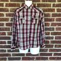 Levi's Shirts | Mens Levis Plaid Western Snap Button Shirt Small | Color: Gray | Size: S