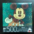 Disney Games   Mickey Mouse Disney 500 Piece Puzzle Nwt   Color: Tan/Gold   Size: Os