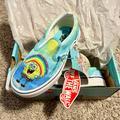 Vans Shoes   Spongebob Vans   Color: Blue/Silver   Size: 12b