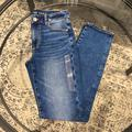 American Eagle Outfitters Jeans   Ae Stretch Womens 4l High Rise Skinny Jeans   Color: Gray   Size: 4 Long
