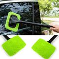 Nettoyeur de pare-brise de voiture, poignée ergonomique, brosse de nettoyage de vitres, outils à