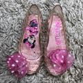 Disney Shoes   Disney Minnie Light Up Jelly Shoes   Color: Pink   Size: 7bb