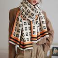 Foulard Vintage en cachemire pour femme, châle, écharpe, couverture épaisse, de luxe, Hijab,