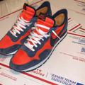 Nike Shoes | Nike Waffle Pegasus Sneakers | Color: Blue/Red | Size: 15