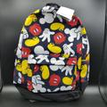 Disney Bags | Disney Mickey Mouse Parts Backpack Full Size Backpack Authentic Disney Item *New | Color: Black/White | Size: Os