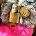 Louis Vuitton Accessories | Authentic Lock & Key Added Necklace Accessory | Color: Brown | Size: Os