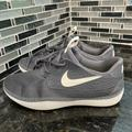 Nike Shoes   Nike Solarsoft Moccasin Shoes Men'S Size 10 Gray And White   Color: Gray/White   Size: 10