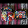Disney Accessories   Disney Kids Coco Backpack And Lunch Case Set   Color: Black/Red   Size: One Size