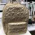 Michael Kors Bags   Michael Kors Winnie Large Backpack Laptop Backpack Pale Gold   Color: Gold   Size: L