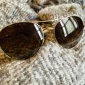 Kate Spade Accessories   Kate Spade Gold Trim Polarized Sunglasses   Color: Brown/Gold   Size: Os