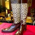 Coach Shoes   Authentic Coach Cowboy Boots Size 10   Color: Brown/Tan   Size: 10