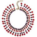 Gold-tone, Crystal And Bead Necklace - Red - Etro Necklaces